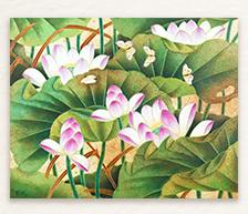 《初夏芳馨》综合装饰瓷板