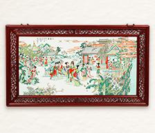《大观园》装饰瓷板