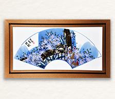 《遗韵》青花颜色釉综合装饰瓷板