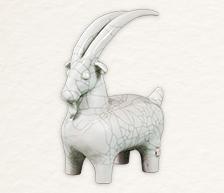 《大吉羊》生肖雕塑