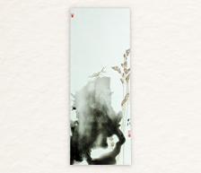 《秋之语》新彩装饰瓷板